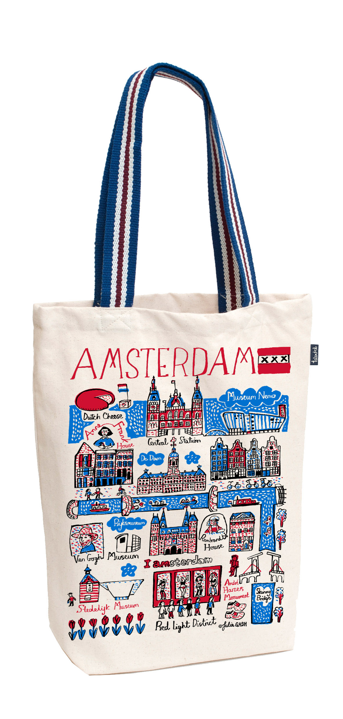 Tote bag medium A'dam