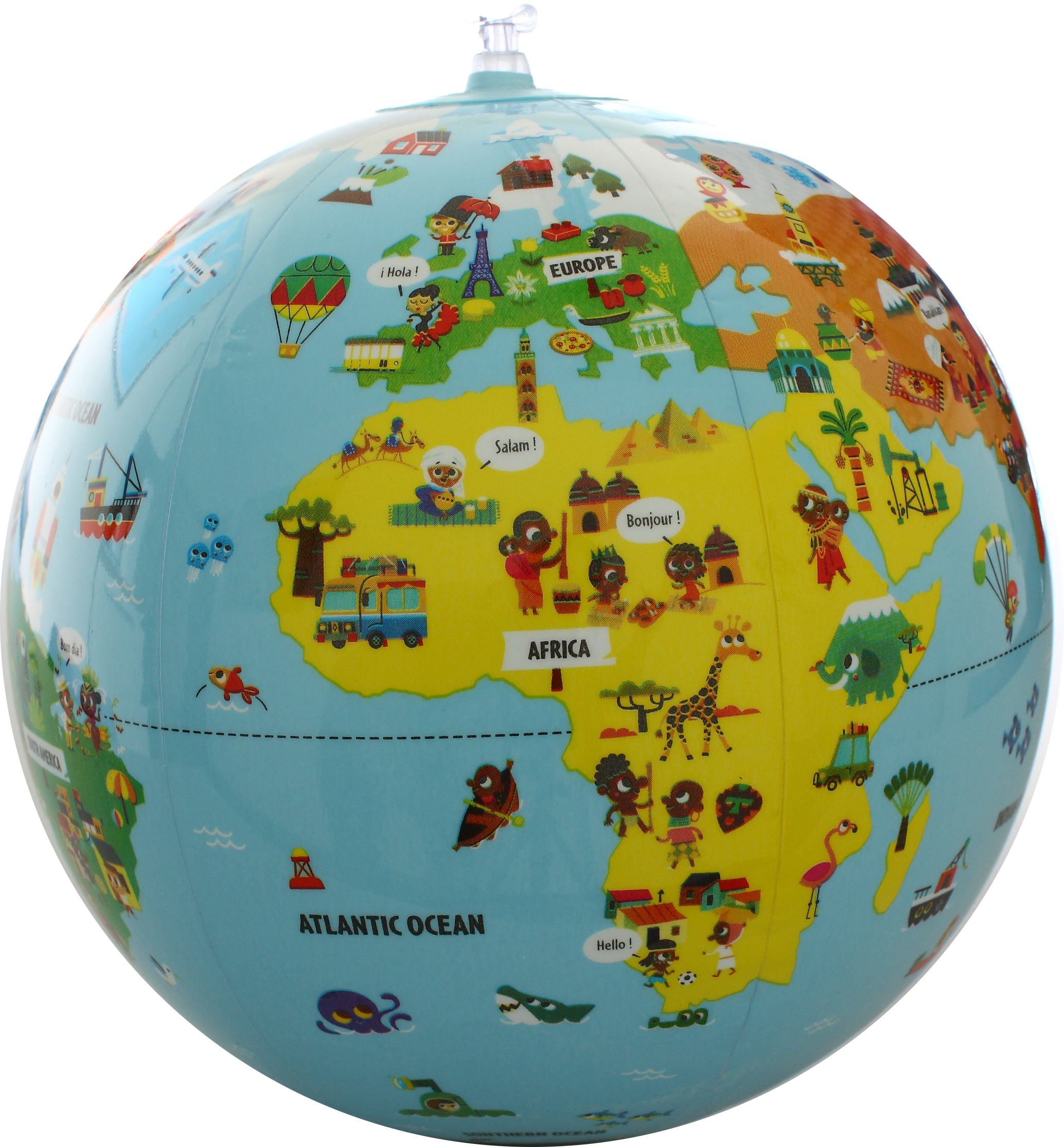 Caly Toys Tiny Travellers Globe 30