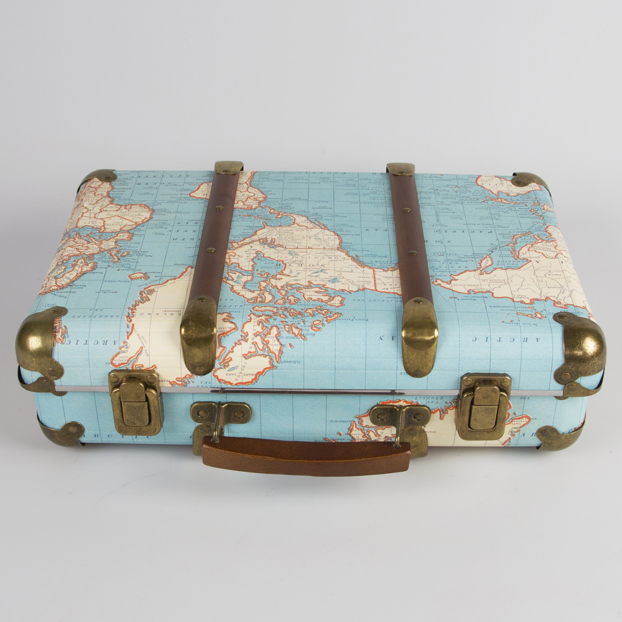 Around the World Suitcase