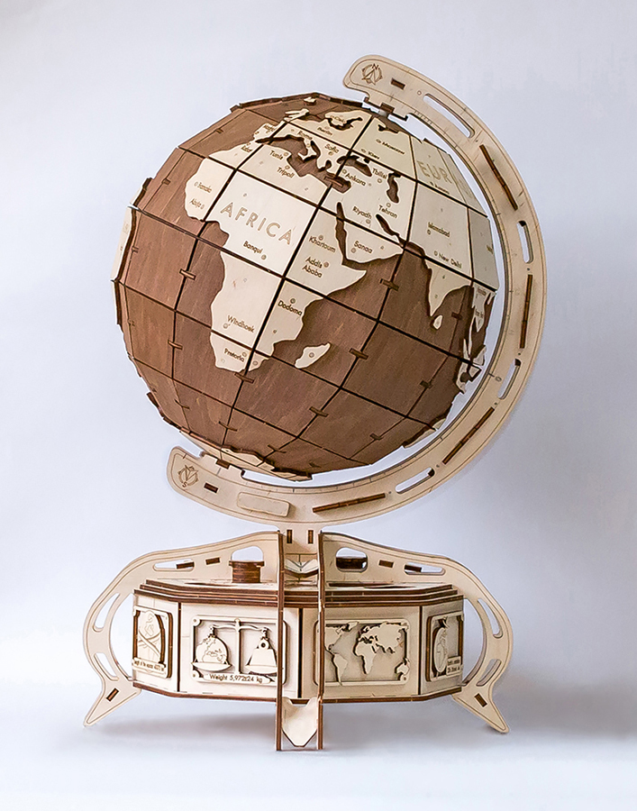Globe World Brown