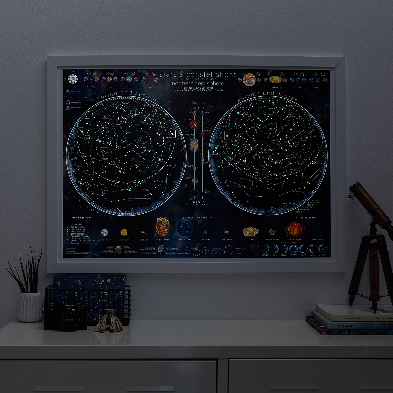 Glow in the Dark Stars and constellations_Glow