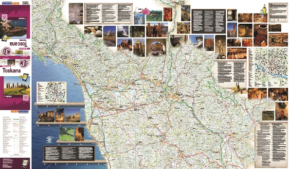 Flash guide Tuscany map