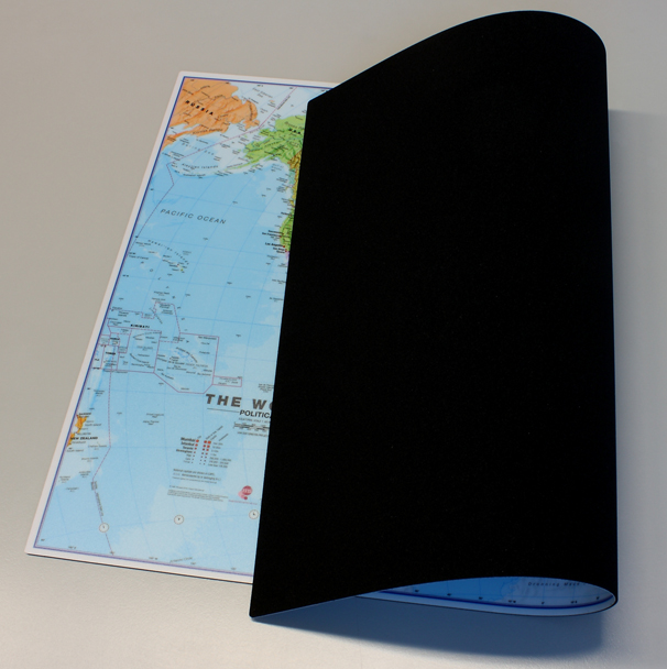 World Mousepad back
